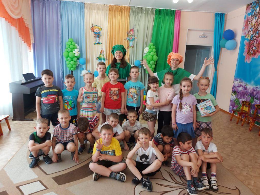 Июнь — время активной работы в рамках реализации проекта «Эколята-Дошколята»